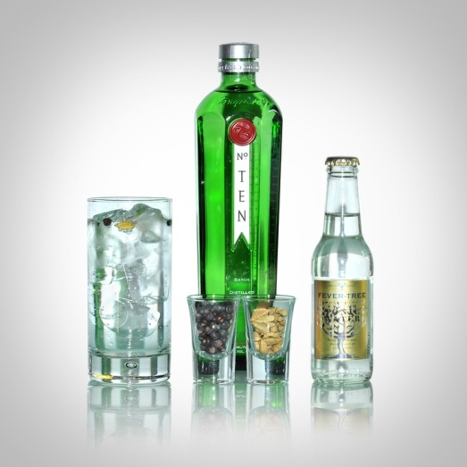 tanqueray 10 gin