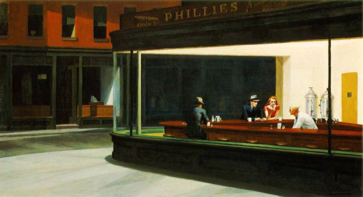 Nightawks - Edward Hopper