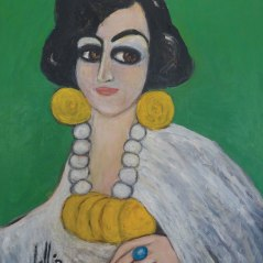 Fahrelnissa Zeid Şu anda Tate Modern ve İstanbul Modern'de sergisi devam ediyor.