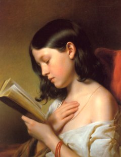 Franz Eybl, A Girl Reading