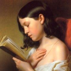 Franz Eybl, A Girl Reading