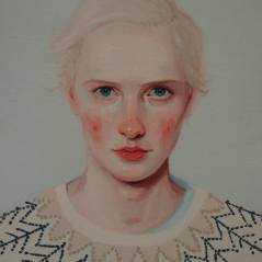 Khris Knight ve akça pakça portreleri