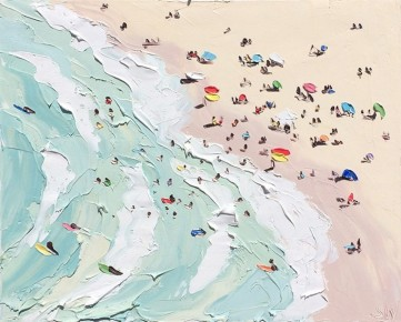 Sally West, The beach
