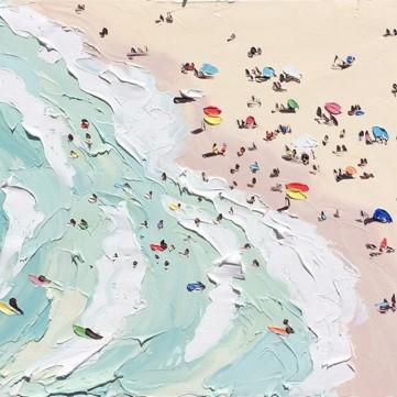Sally West, The beach