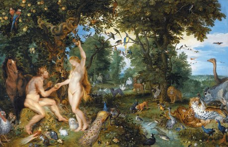 Wenzel Peter, Adam and Eve in the Garden of Eden