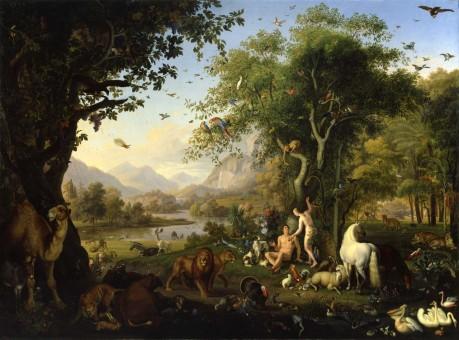 Jan Brueghel the Elder and Pieter Paul Rubens, The Garden of Eden with the Fall of Man