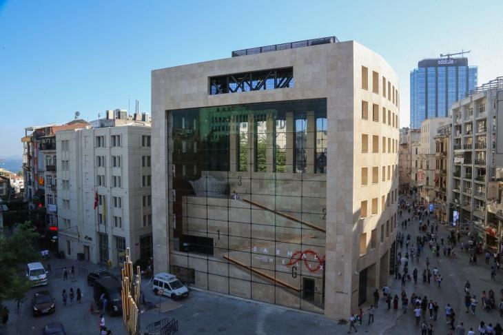 Yapı Kredi Kültür Sanat Binası Dış Cephe