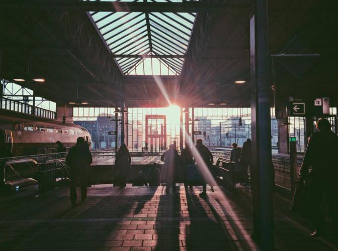 Eindhoven tren istasyonu
