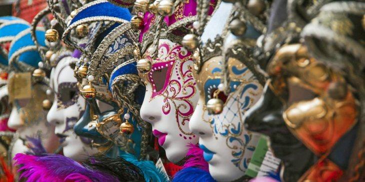 venedik maskeleri - venedik karnavali